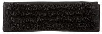 Miu MiuMiu Miu Leather Ruched Clutch