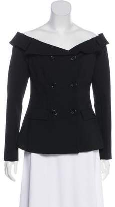 L'Agence Double-Breasted Lightweight Jacket