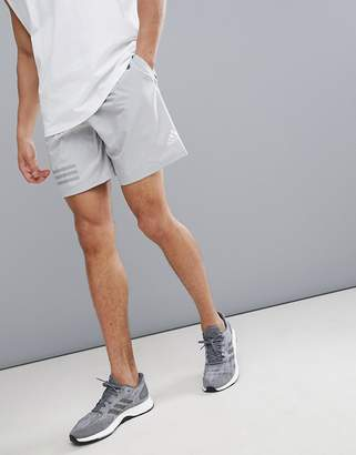 adidas Training Woven Shorts In Grey Cd7808