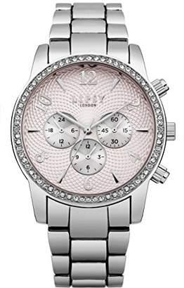 Lipsy Womens Analogue Classic Quartz Watch with Aluminium Strap LP562