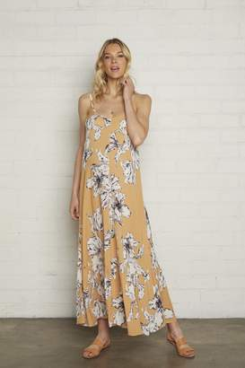 Maternity Crinkle Cilla Dress - Provence Print,
