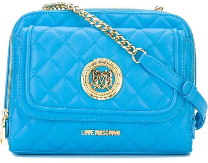 Love Moschino Love Moschino quilted cross body bag