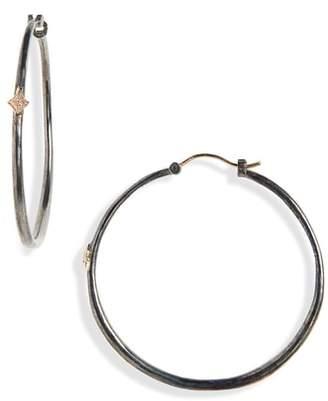 Armenta New World Crivelli Hoop Earrings