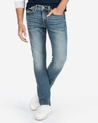 Express Slim Medium Wash Stretch+ Soft Cotton Jeans