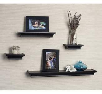 Darby Home Co 4 Piece Floating Shelf Set