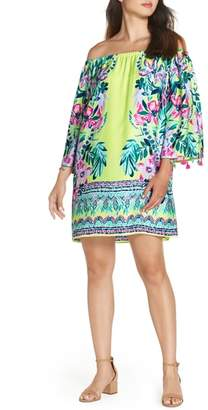 Lilly Pulitzer R) Payge Off the Shoulder Dress