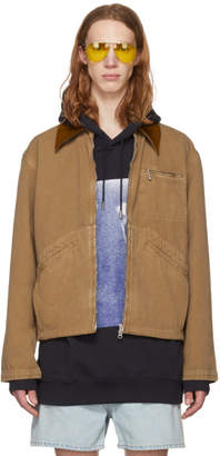 Acne Studios Brown Marvon Jacket