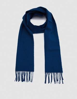 Norse Projects Norse x Johnstons Lambswool Scarf in Sodalite