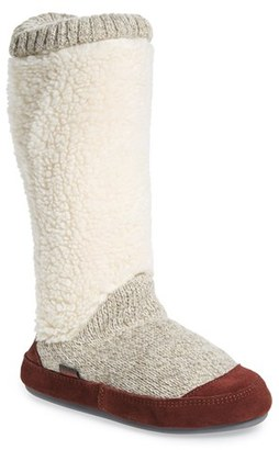 Acorn Slouch Slipper Boot (Women) $64.95 thestylecure.com