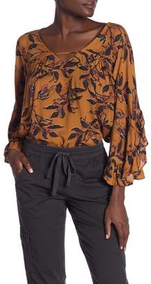 Columbia SUPPLIES BY UNION BAY Debora Leaf Print Top
