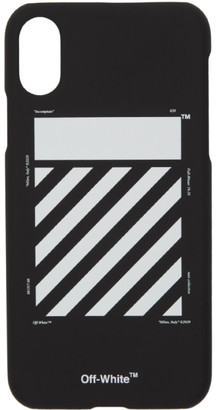 Off-White Black Diagonal iPhone XS Max Case