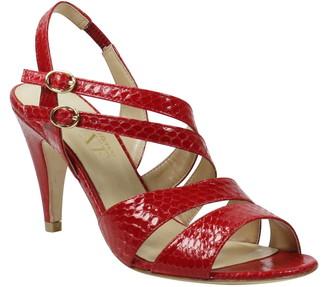 J. Renee Carro Snake Embossed Strappy Sandal