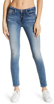 True Religion Jennie Curvy Exposed Button Fly Jeans