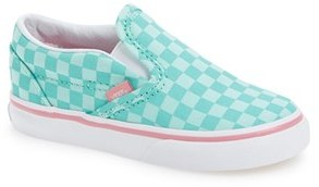 Girl's Vans Classic Slip-On Sneaker $29.95 thestylecure.com