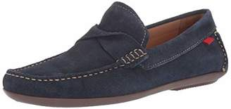 Marc Joseph New York Mens Genuine Leather Made in Brazil Plymouth Twisted Driver Driving Style Loafer D(M) US