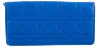 Christian Dior Lady Cannage Wallet w/ Tags