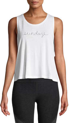 Beyond Yoga Sundaze Sleeveless Twist-Back Tank