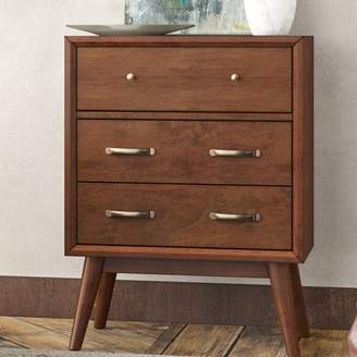 Mid-Century MODERN George Oliver Ripton 3 Drawer Accent Chest