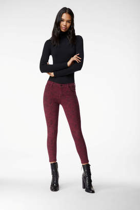 835 Mid-Rise Cropped Skinny In Boa Oxblood