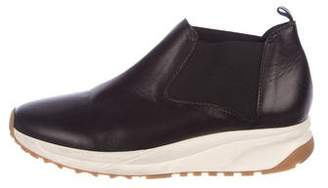 Rachel Comey Leather Round-Toe Boots
