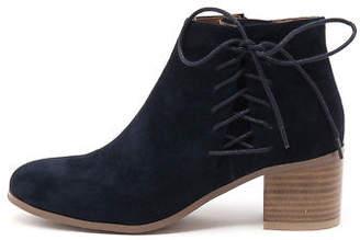 Django & Juliette New Keltic Navy Womens Shoes Casual Boots Ankle