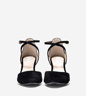 Cole Haan Lacey Ankle Strap Wedge (75mm)