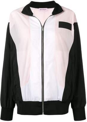 Palm Angels colour block track jacket