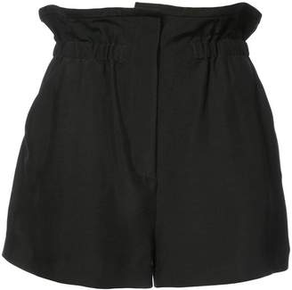 IRO high-waisted paperbag shorts