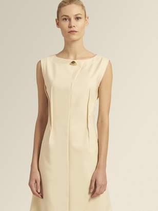 DKNY Sleeveless Darted Dress