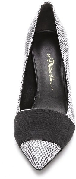 3.1 Phillip Lim Dove Low Pumps