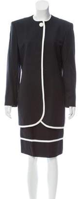Christian Dior Knee-Length Pencil Skirt Suit