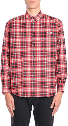 MSGM Cotton Check Shirt