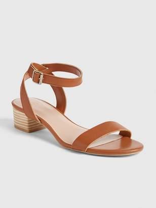Gap Stacked Heel Sandals