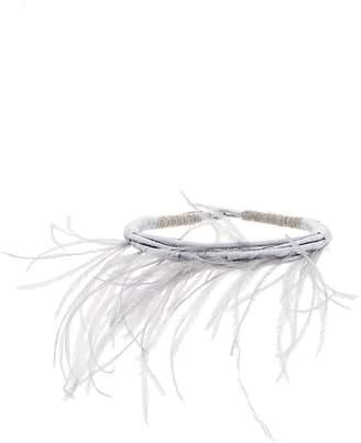Fabiana Filippi feather necklace