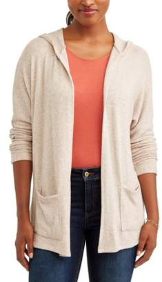 Thyme + Honey Women's Extra Soft Long Sleeve Loose Cardigan