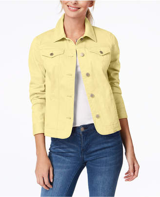 Charter Club Petite Denim Jacket, Created for Macy's