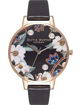 Olivia Burton Hand Drawn Jewel Watch
