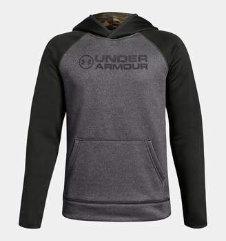 Under Armour Boys' UA Storm Armour Fleece Stacked Hoodie