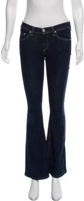 Rag & Bone Elephant Bell Low- Rise Jeans