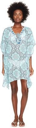 Letarte - Printed Cover-Up Women's Swimwear $238 thestylecure.com
