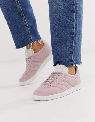 best sneakers 6925d 5df9c adidas Gazelle Stich Trainers
