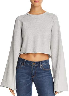 7 For All Mankind Flared-Sleeve Sweatshirt