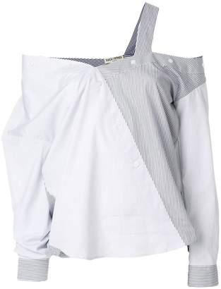 Each X Other asymmetric button shirt