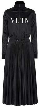 Valentino Jersey midi dress