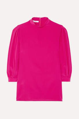 Givenchy Silk Crepe De Chine Blouse - Pink