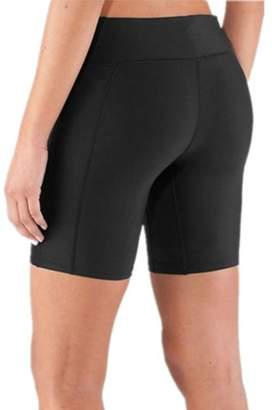0a971899d8dae XIAOLI COLLETION Women Plus Size Swim Shorts Bikini Brief Bottoms Exercise  Pants Runing Boardshorts
