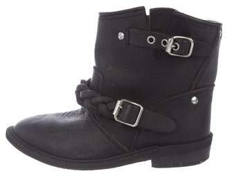 Golden Goose Kids' Leather Boots