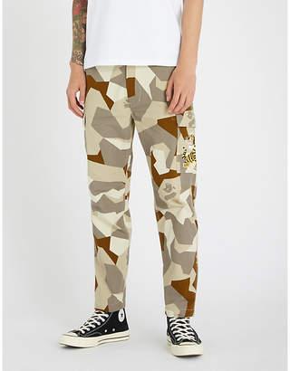 A Bathing Ape Splinter camouflage cotton-drill cargo trousers