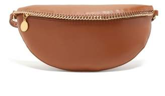 Stella McCartney Falabella Faux Leather Belt Bag - Womens - Tan