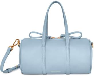 Mansur Gavriel Lamb Mini Mini Duffle Bag - Grey Blue